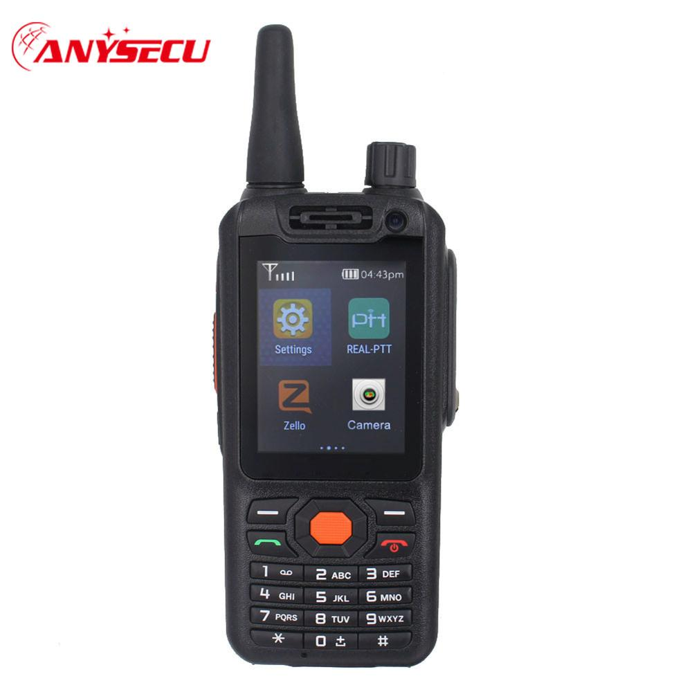 SIM Card PTT Radio G25/F25 ANDROID WALKIE TALKIE 50km real-PTT SMARTPHONE F25 ENHANCED 4G LTE ZELLO radio