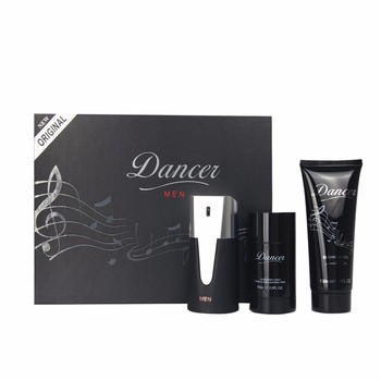 Wholesale Spray Form 100ml Classic Dancer Men 3 Pieces Perfume Gift Set OEM Customized