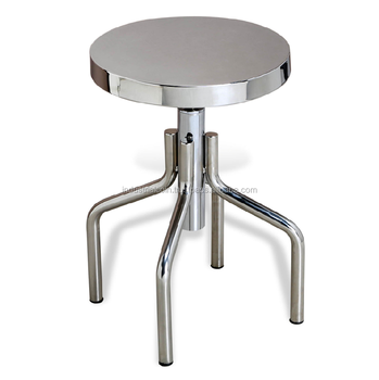 Incredible Polished Shining Steel Height Adjustable Stool Furniture Buy Stainless Steel Kitchen Stools Stainless Steel Stool Stainless Steel Lab Stool Product Caraccident5 Cool Chair Designs And Ideas Caraccident5Info