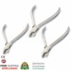 Aderer Plier 374 Orthodontic Tools Triple Beak Clasp Utility Forming Wire Bending