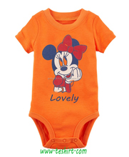 OEM Printed custom baby cotton knitted baby clothes romper newborn 2018
