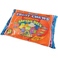 TOOTSIE FRUIT CHEWS MEGA MIX/4 LB #CA496