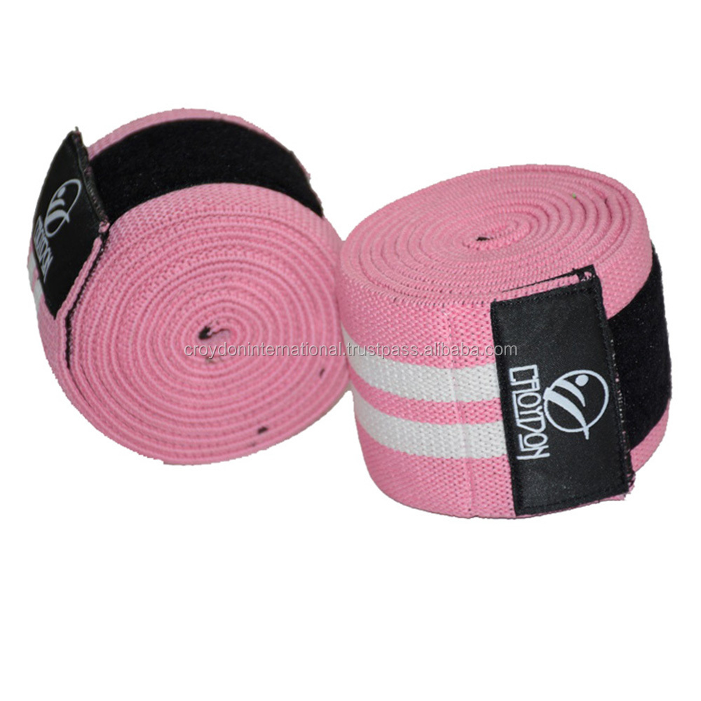 Heavy Duty Power lifting Knee Wraps