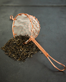 Quality stainless tea strainer with Long handle for loose tea leaves
