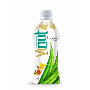 350ml Honey Flavor aloe vera juice drink