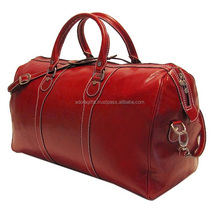 Good Quality leather travel bags for tours and travels