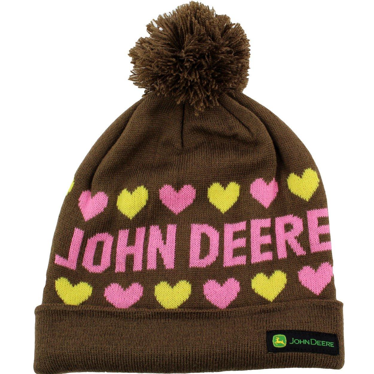 John Deere Girls Beanie Hat (Little Kid/Big Kid)