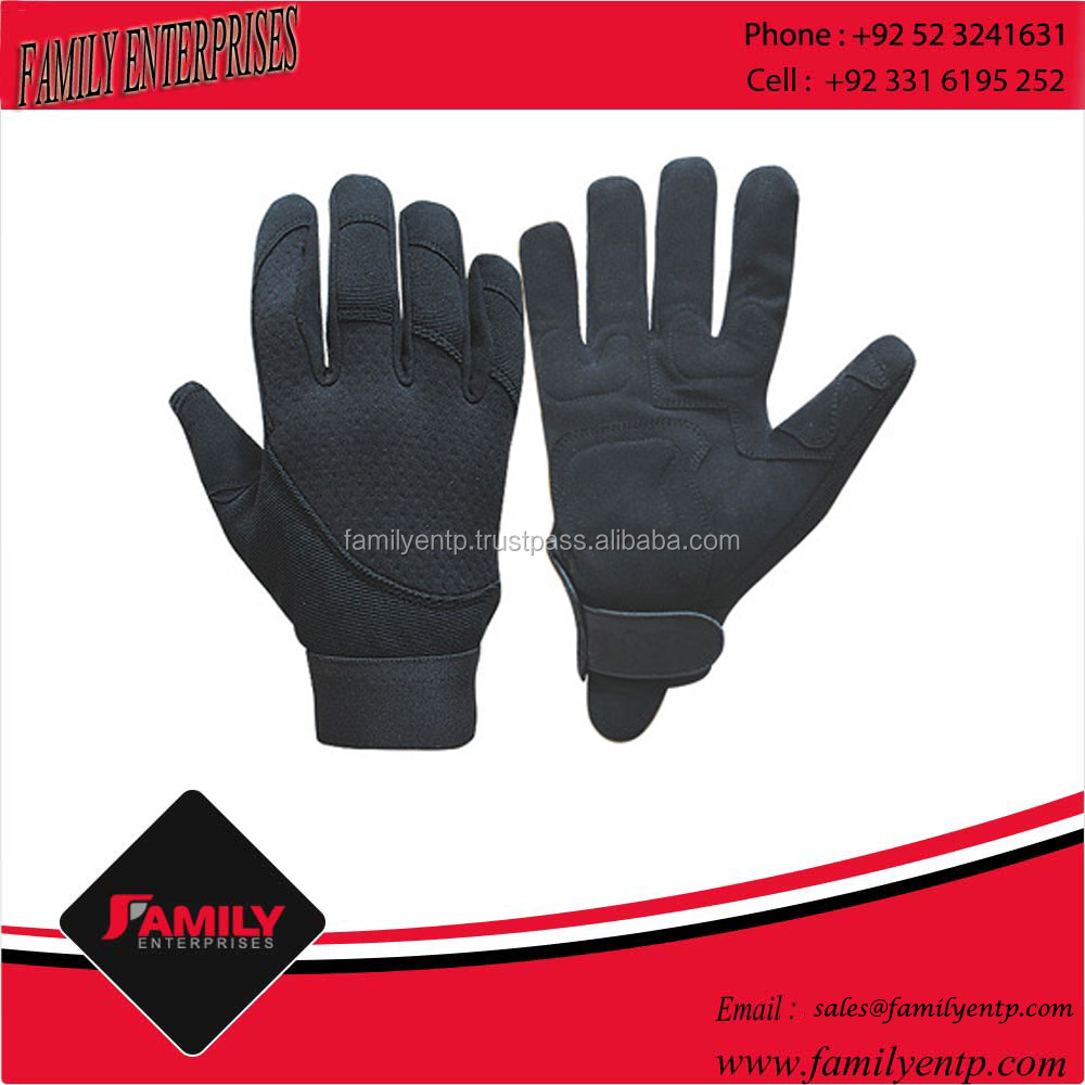 Labour Machanic Gloves Goatskin Leather Gloves For Sale