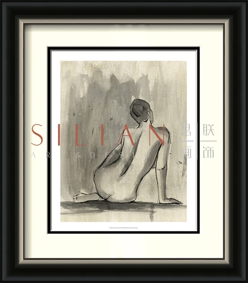 Sumi-e Figure IV Naked Sexy picture