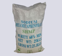 Msds Sodium Hexametaphosphate 68% purity SHMP tech grade