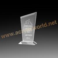 Custom made acrylic awards, acrylic trophy, acrylic award plaques