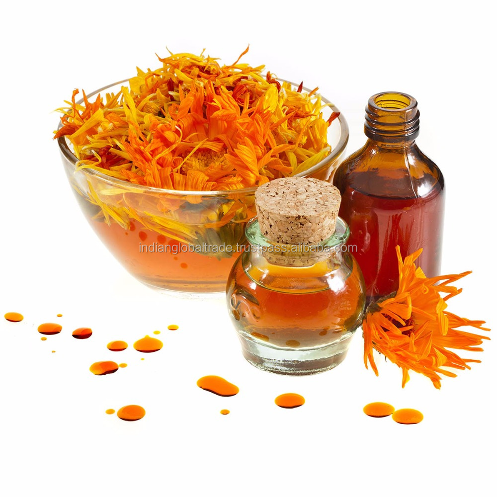 Calendula Oil | Pure and Natural Calendula Essential Oil | Fresh Cold Pressed Calendula Oil