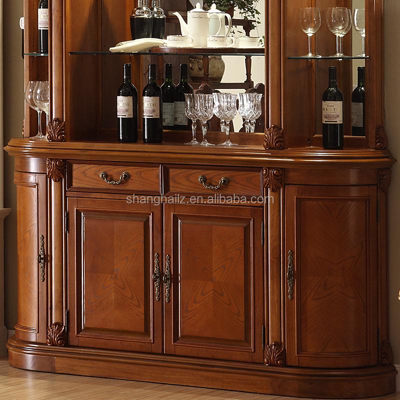 British Empire Furniture Wine Bar Cabinet Glass Display ...