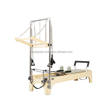 Pilates Reformer With Half Trapeze Table Combi