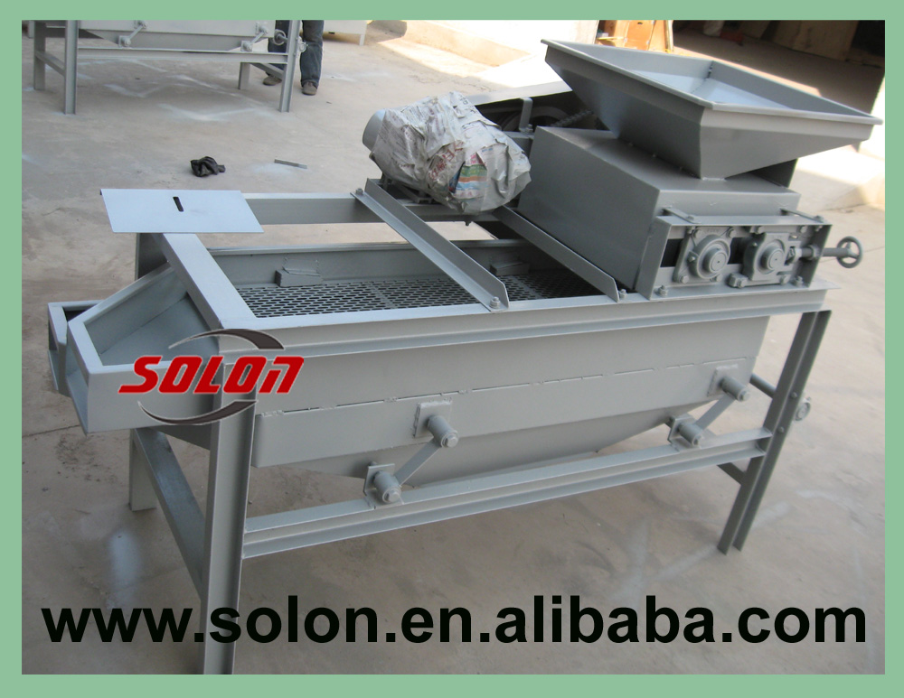 Solon professional good performance hazel nut cracking machine