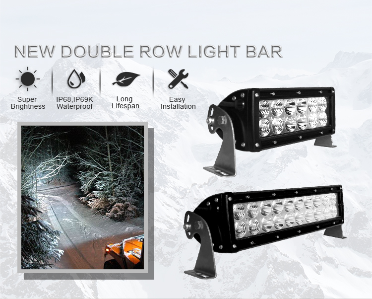 SAE DOT E-mark approved Aurora 50inch 500W led off road light bar 4x4 offroad accessories
