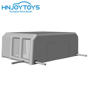 Grey color Promotion durable car lab spray booth with filters for sale