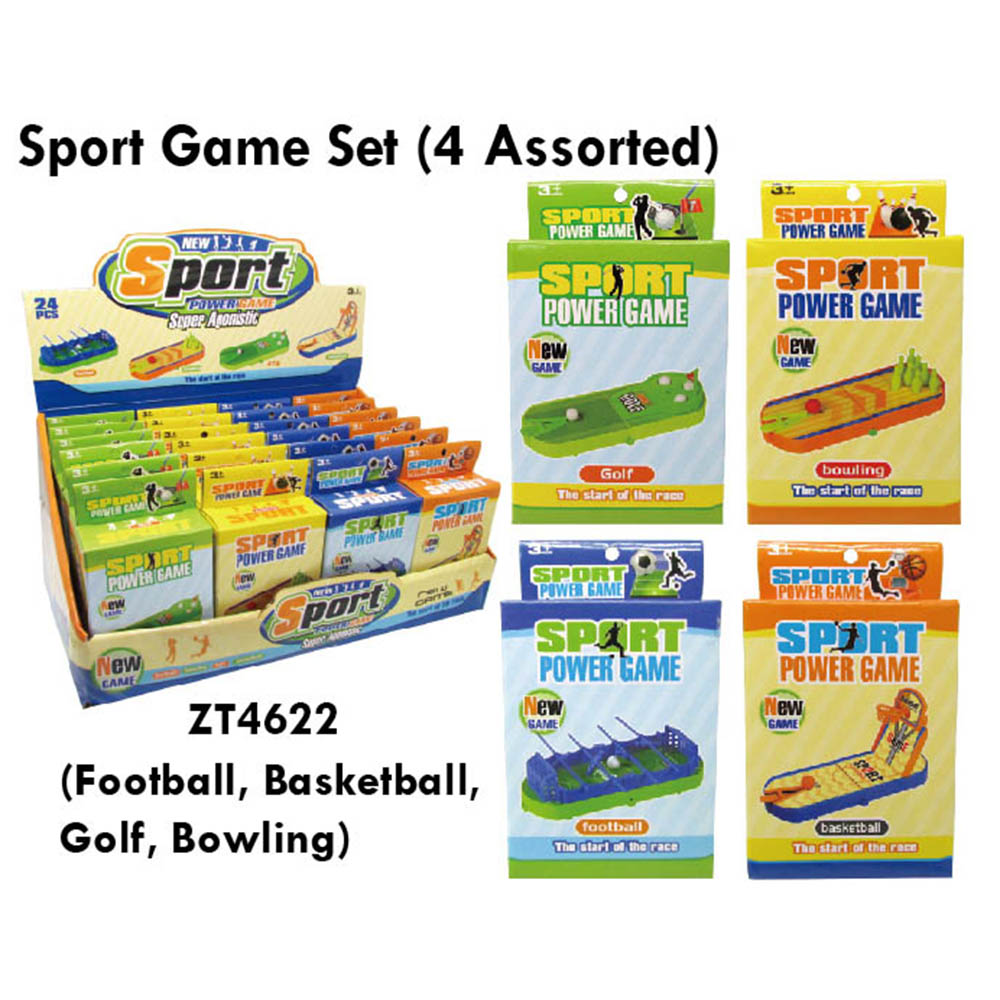 Football Basketball Golf Bowling Sport Table Game Set