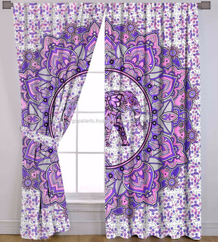 insulating treatments curtains insola valance beyond waterfall purple in buy odyssey bath window bed from