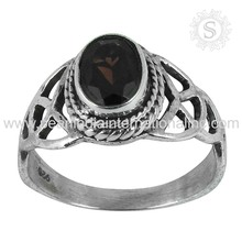 New design garnet gemstone jewellery ring 925 sterling silver ring wholesale price silver jewelry