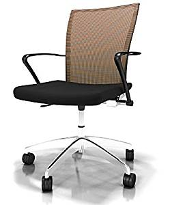 """Mayline Valore Mesh Back Task Chair Overall Dimensions: 23 1/2""""W X 20 1/2""""D X 36 1/2""""-40 1/4""""H Seated Area Dimensions: 19.5""""W X 17""""D X 18""""H Seat Height: 18.5""""-22.25"""" - Orange"""