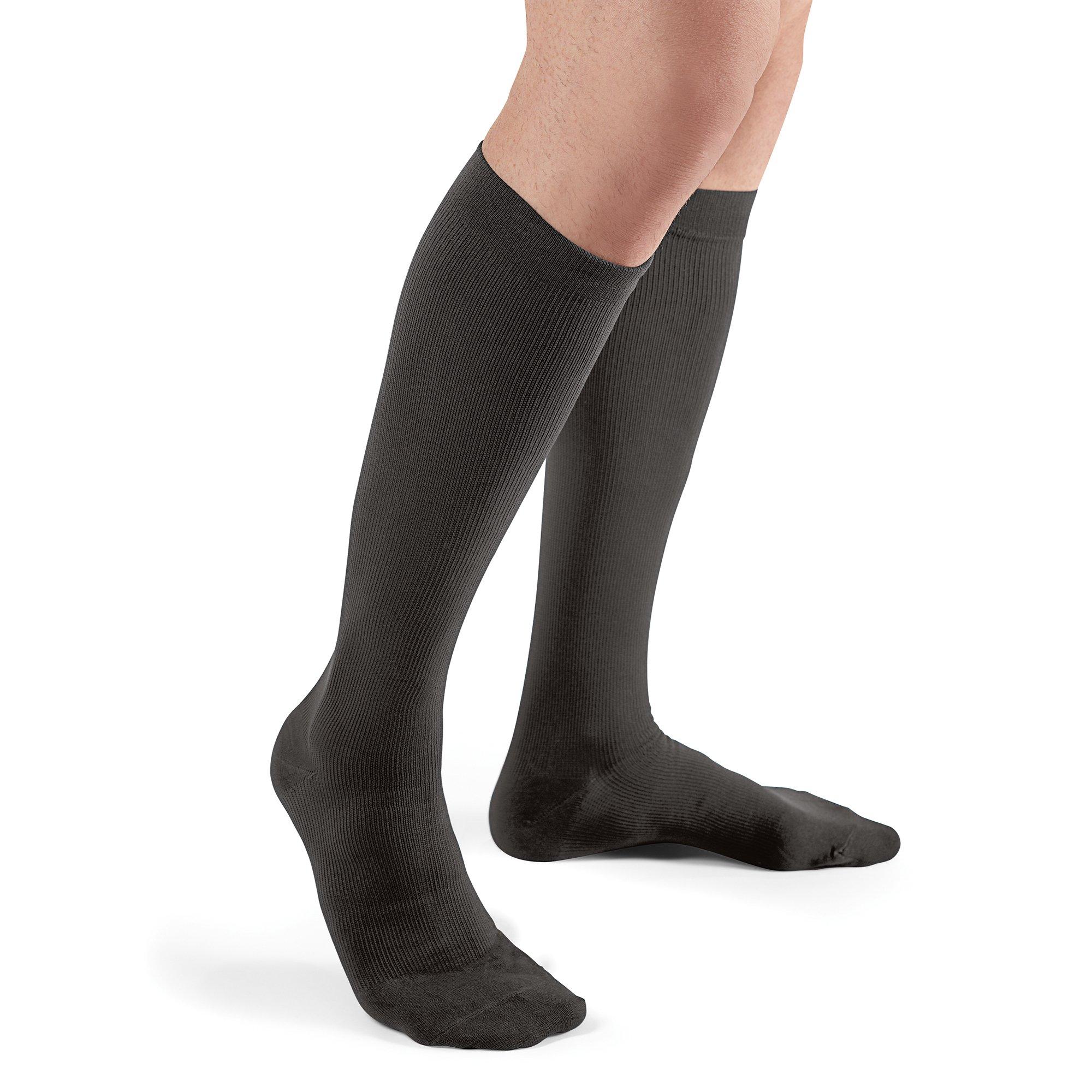 444cf75f79c0 Get Quotations · Futuro Restoring Dress Socks for Men, Firm Compression,  Over the Calf, X-