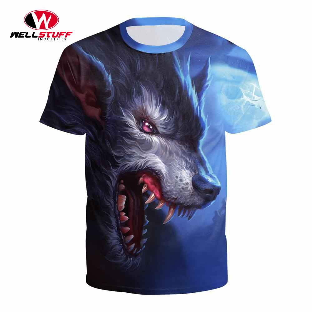 Dye Sublimated T Shirt Men Sublimation Printed T Shirt Custom