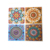 3D PVC self adhesive embossed wall sticker tile peel and stick tile stickers for home decor