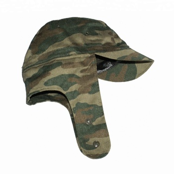 Military Ear Flap Combat Hats Army Style Winter Fatigue Caps w ... 92dde60cf59
