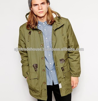 Army Green Parka Jacket