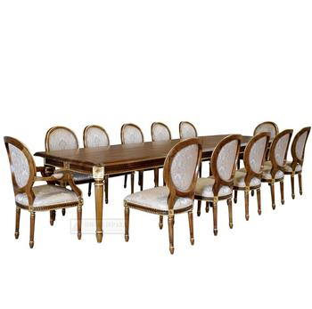 Furniture Luxury Dining Table Set 12 Chairs Product On Alibaba