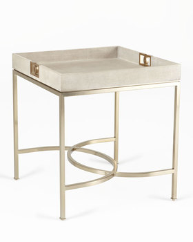 Modern Square Gold Colour With Tray Top Coffee Metal Storage Living Room Side Tables In Stainless Steel Wood
