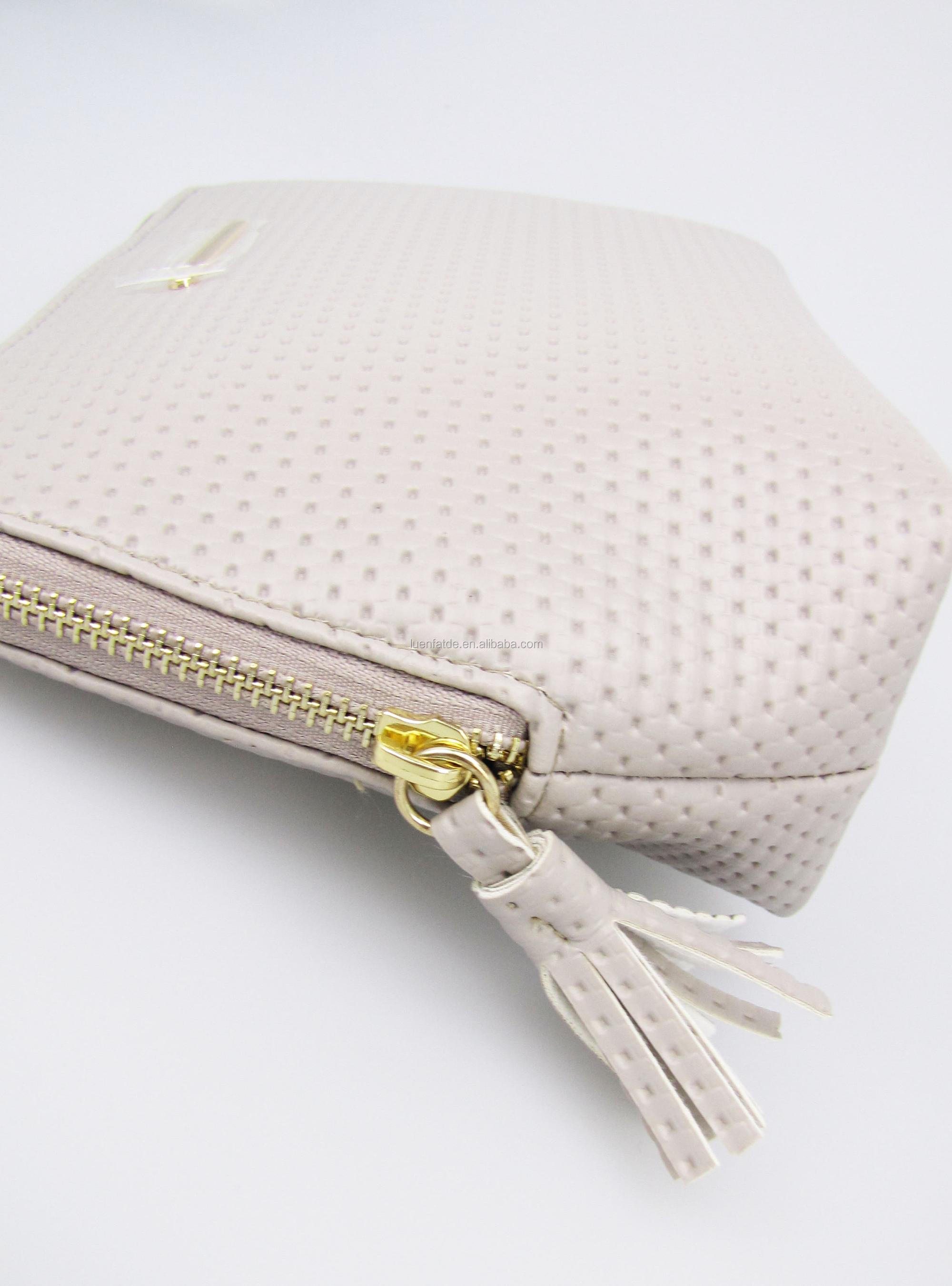 Fashion PU leather Women Cosmetic Bag Fashion Beauty