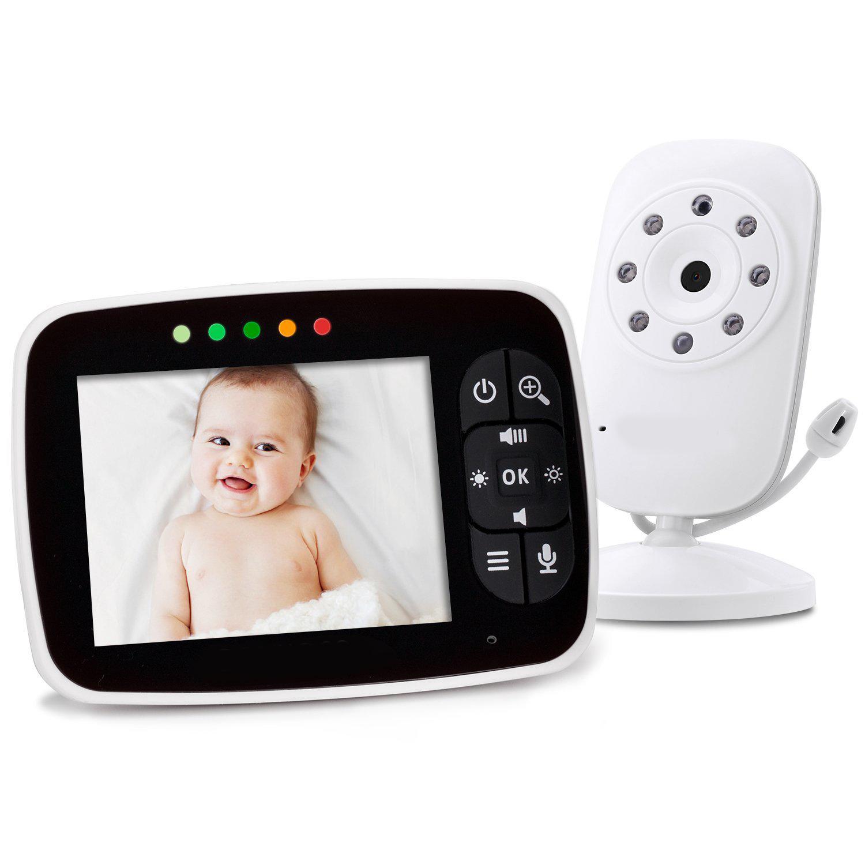 2018 mais novo 3.5 polegada sem fio de imagem clara e boa qualidade barato câmera de vídeo do bebê, vídeo barato monitor de bebê