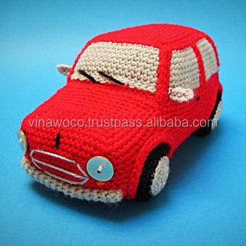 Amigurumi Araba Yapımı (Görüntüler ile) | Tığ işleri, Kroşe, Örme ... | 350x350
