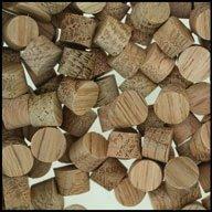 "WIDGETCO 5/16"" Oak Wood Plugs, Face Grain"