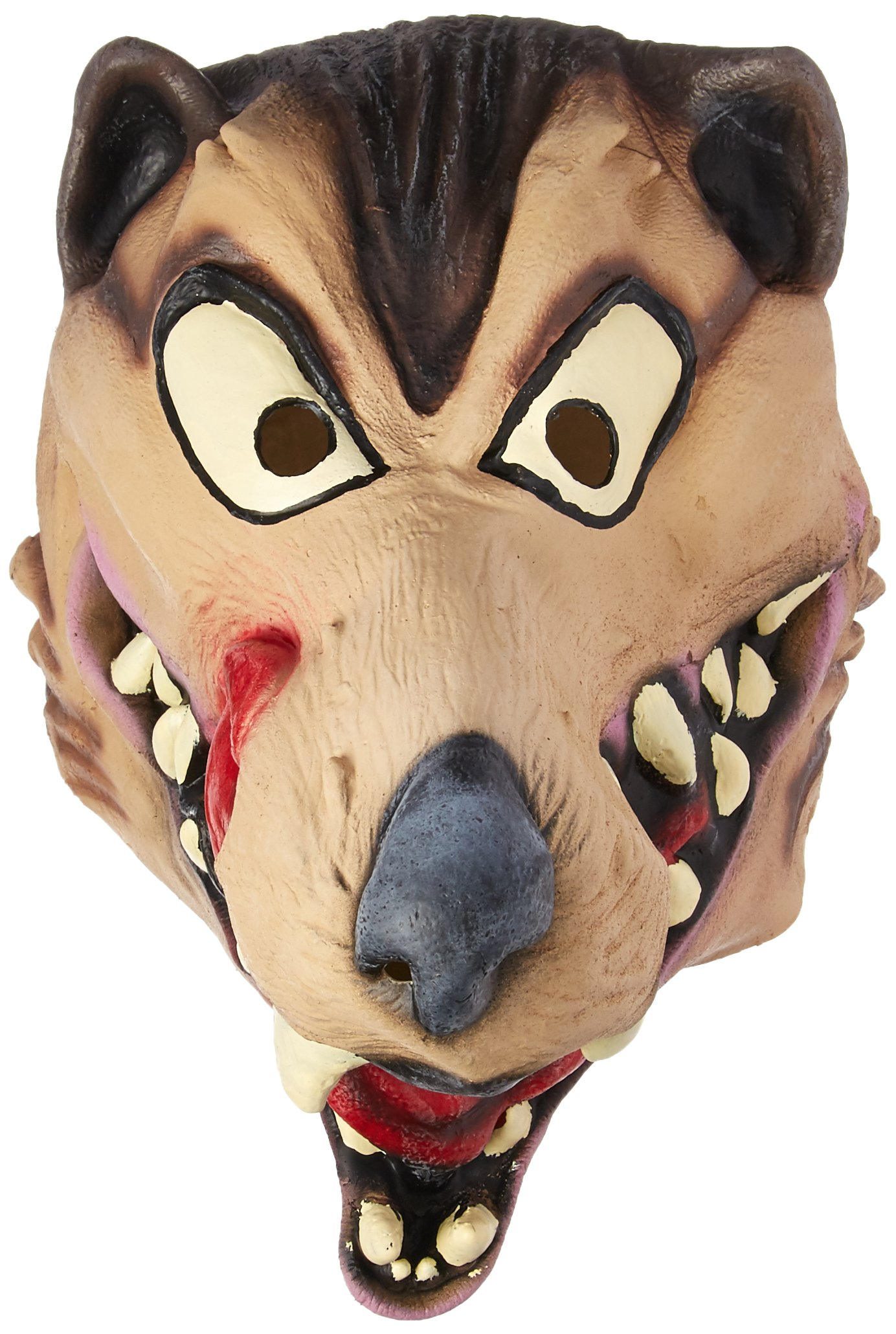 Disguise Men's Hungry Wolf Adult Latex Costume Mask