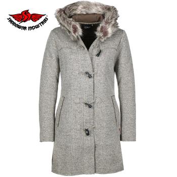 2ebe8a8ffe 2019 Wool Womens Coats with fur collar,Women's Coats & Jackets Puffer &  Down,