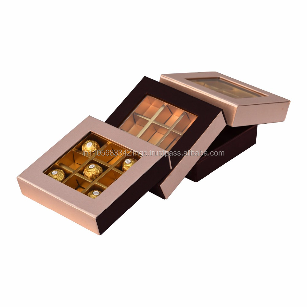 Chocolate Boxes For Ferrero Suppliers Rocher T24 Coklat 24pcs And Manufacturers At