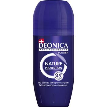 Deonica Nature protection Roll-on Antiperspirant for Men