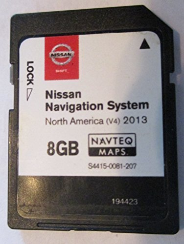 Buy 3TP0A GCC 2013 NISSAN CONNECT SD NAVIGATION CARD with MIDDLE