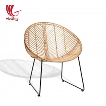Handmade Rattan Chair Antique Wicker Furniture Made In Vietnam