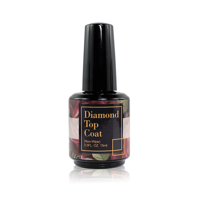 Super Shinning Top Coat No Wipe Easy Soak Off ไม่มีสีเหลือง