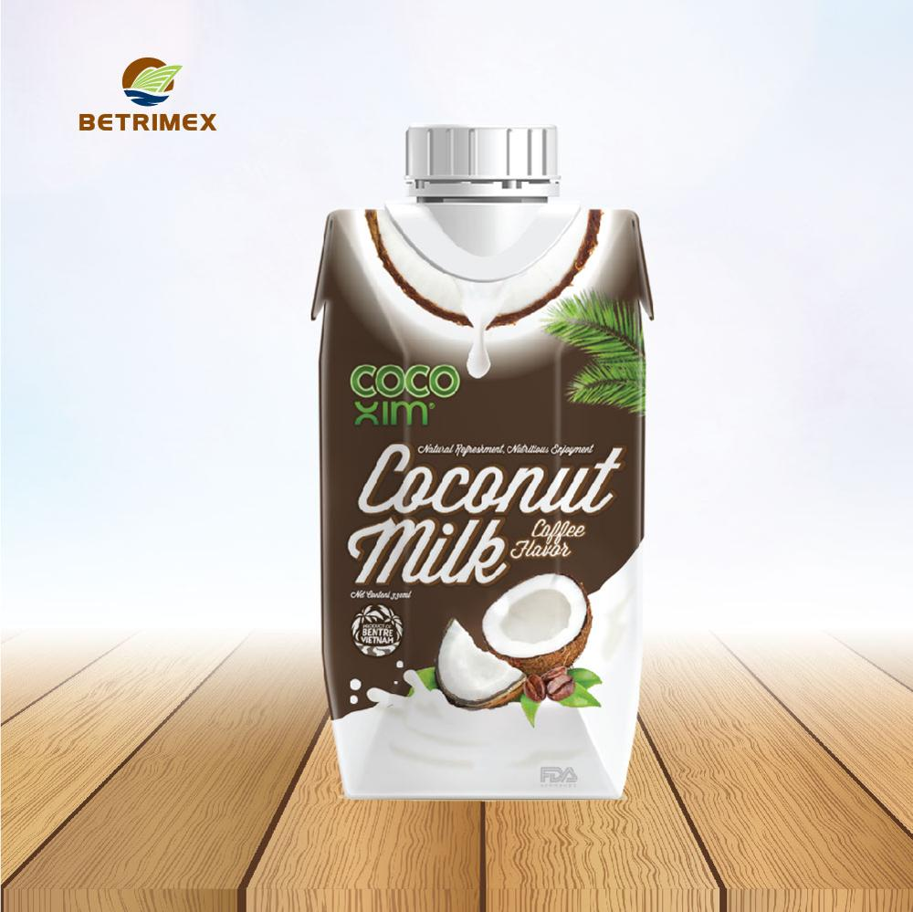 Coffee flavored coconut milk 330ml.