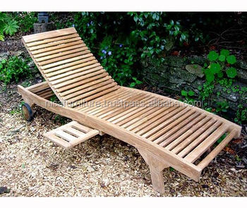 Patio Wooden Outdoor Garden Furniturelazy Chair Curve Sun Lounger Bed Teak Buy Sun Lounger Outdoor Furniture Garden Sun Lounger Product On