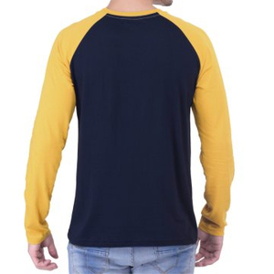 Color Combination T shirt with full sleeves