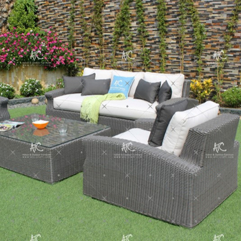 2018 Modular Synthetic Rattan Sofa Garden Furniture