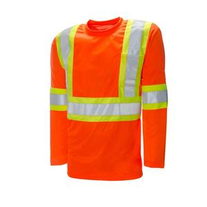 Hi Vis Workwear Work Uniform Shirt With Reflective Tape