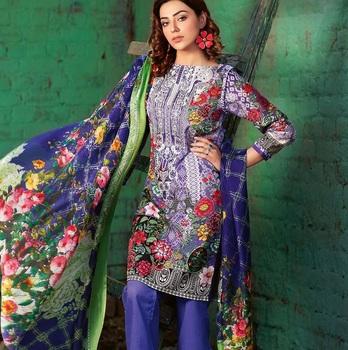 273be77e23 Pakistani cotton lawn suit/cotton anarkali salwar kameez /wholesale casual  dress Indian Latest Styles