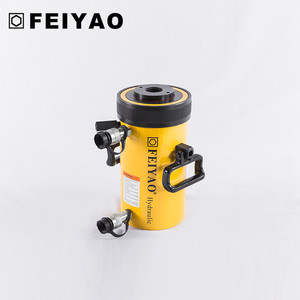 Double Acting High Tonnage Hollow telescopic nice price Hydraulic Cylinder (30-600 ton)